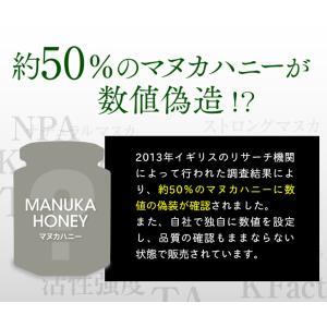 マヌカハニー MGS 16+ MG 600+ 250g 【送料無料】 マリリニュージーランド 無添加 非加熱  マヌカはちみつ maririnz-manukahoney 06