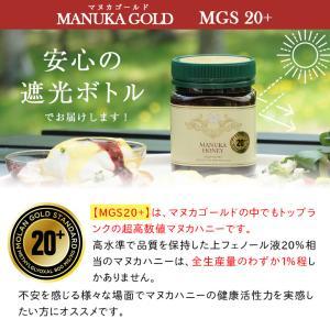 マヌカハニー MGS20+ MG 800+ 250g 【送料無料】 マリリニュージーランド 無添加 非加熱  マヌカはちみつ maririnz-manukahoney 05