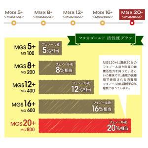 マヌカハニー MGS20+ MG 800+ 250g 【送料無料】 マリリニュージーランド 無添加 非加熱  マヌカはちみつ maririnz-manukahoney 06