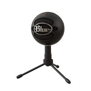 Blue Microphones Snowball iCE USB コンデンサー マイク Black スノーボール アイス ブラック BM200BK PC MAC PS4 USB|maritakashop