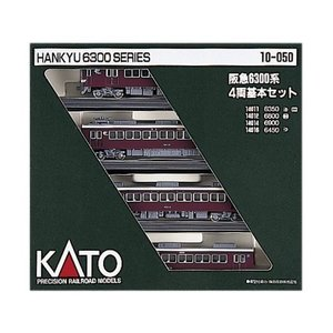 Nゲージ 10-050 阪急6300系基本 (4両)|maritakashop