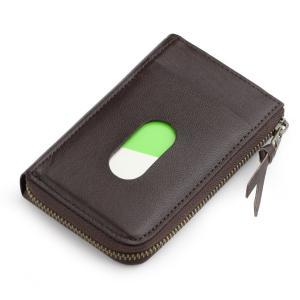 日本製 本革 パスケース 兼用 カードケース ダークブラウン maritakashop