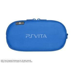 PlayStation Vita キャリングポーチ ブルー (PCHJ-15008) maritakashop