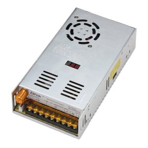 調整可能なDC電源電圧コンバータAC 110V-220V〜DC 0-48Vモジュールスイッチング電源デジタル表示 480W電圧レギュレータ変圧器 内蔵冷却ファン付け maritakashop