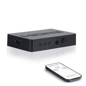 HDMI切替器 HDMI分配器 3入力1出力 HDMI セレクター 1080p/3D対応 自動切り替...