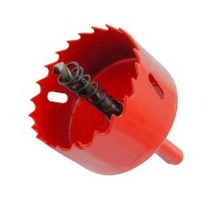 ホールソー バイメタル 穴あけ ドリルビット 切削工具 鉄 アルミ 石膏ボード プラスチック 木材などに 切削直径60mm|maritakashop