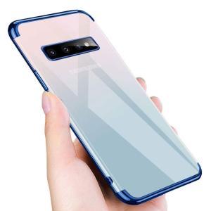 Samsung Galaxy S10 plus ケース クリア 耐衝撃 透明 軽量 薄型 TPU ソ...