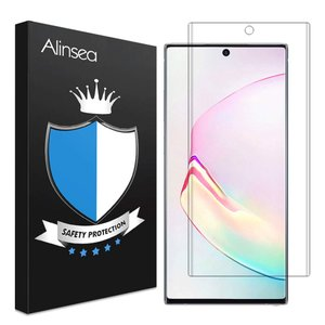 Galaxy Note 10 plus フィルム 指紋対応可能 Alinsea Galaxy Note10 + フィルム Note 10 plus ガラスフィルム 全面吸着 優れたタッチ感度 Galaxy Note10 plus 強|maritakashop