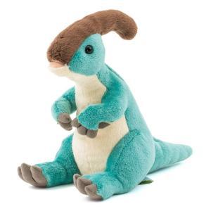 カロラータ パラサウロロフス ぬいぐるみ 恐竜 (おすわりシリーズ) 11cm×19.5cm×14.5cm maritakashop