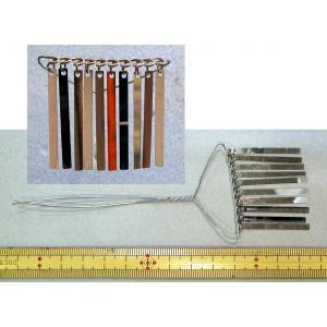 つまみかんざしなどの材料です。 全長約13.5cm 銀ビラ部分約3.5cm 巾約4.5cm  内容:...
