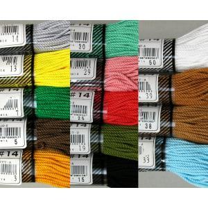 マクラメ 色番号1(きなり) #14 約29m 綿100%  ダルマ手芸糸|mariya|02