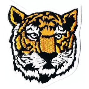刺繍ワッペン 虎タイガー|markers-patch
