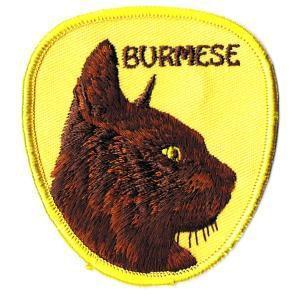 動物ワッペン BURMESE|markers-patch