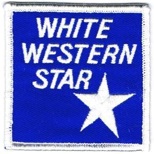アイロンワッペン ホワイト ウエスタンスター|markers-patch