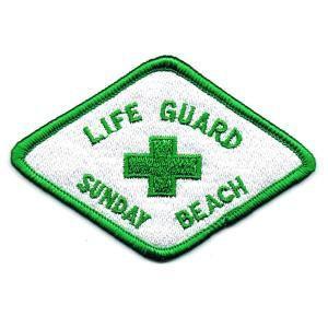アイロンワッペン LIFE GUARDO SB|markers-patch