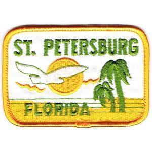 アイロンワッペン フロリダ イエロー|markers-patch