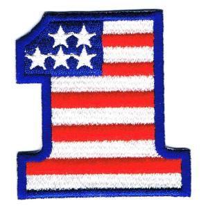 星条旗ワッペン US NO1|markers-patch