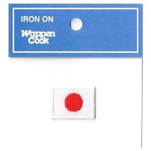 ワッペン 日の丸 日本国旗 ミニ SS markers-patch