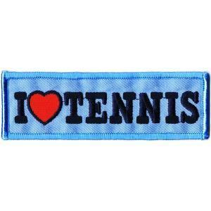 刺繍ワッペン テニス|markers-patch
