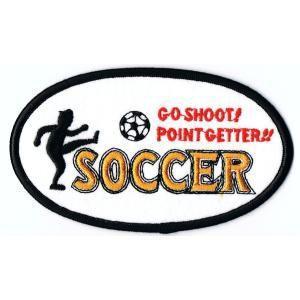 刺繍ワッペン サッカーPOINTGETTER|markers-patch