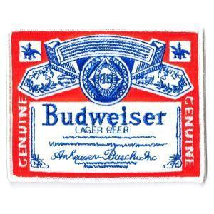 ワッペンエンブレム Budweiserオールド|markers-patch