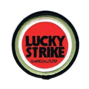 ロゴワッペン ラッキーストライクS|markers-patch