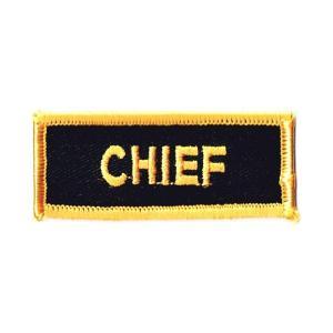 エンブレムワッペン CHIEF|markers-patch