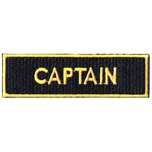 エンブレムワッペン CAPTAIN|markers-patch