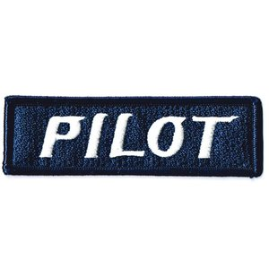 エンブレムワッペン PILOT|markers-patch