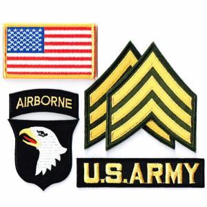 アメリカ陸軍 ワッペン ミリタリー 米陸軍 第101空挺師団 セット|markers-patch