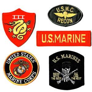 ミリタリーワッペン 米海軍&海兵隊セット |markers-patch