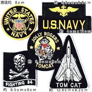 アメリカ軍 ミリタリーパッチ 米海軍VF84 ワッペンセット |markers-patch