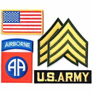 アメリカ陸軍 ワッペン ミリタリー 米陸軍 第82空挺師団 セット|markers-patch
