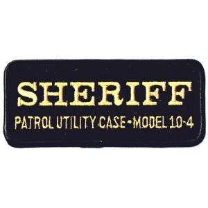エンブレムワッペン SHERIFFスクエアG|markers-patch