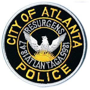 エンブレムワッペン ATLANTA POLICE|markers-patch