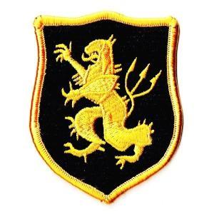 ミリタリーワッペン デヴグルゴールドチームBL|markers-patch