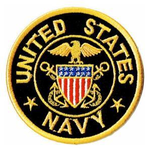 ミリタリーワッペン 米海軍士官エンブレムM |markers-patch