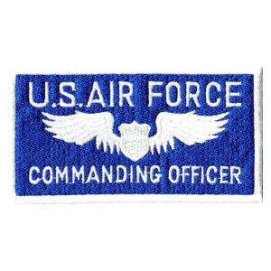 アメリカ空軍 ミリタリーワッペン USAF角型|markers-patch
