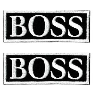 エンブレムワッペン BOSS|markers-patch