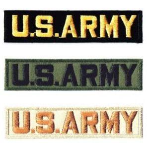 アメリカ陸軍 ミリタリーワッペン US ARMYタブ|markers-patch