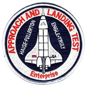 NASA エンブレムワッペン LANDING TEST|markers-patch