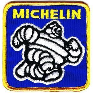 レーシング ワッペン エンブレム MICHELIN角型|markers-patch