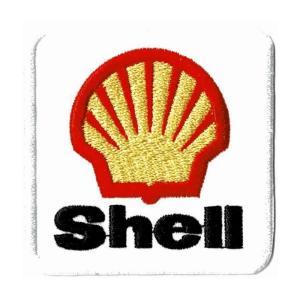 レーシング ワッペン エンブレム Shell|markers-patch