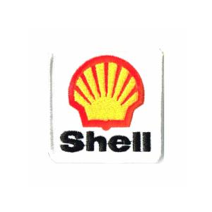 レーシング ワッペン エンブレム Shellミニ|markers-patch