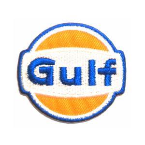 レーシング エンブレム ワッペン Gulf|markers-patch