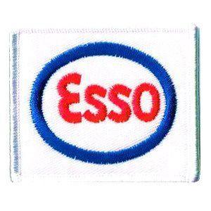 レーシング エンブレムワッペン Esso markers-patch