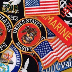 ワッペン ミリタリーパッチ 米海兵隊 多目お任せ12枚|markers-patch