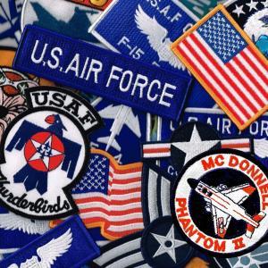 アメリカ空軍 ミリタリーパッチ 米空軍 エンブレムワッペン ...