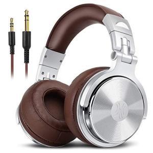 OneOdio DJ モニターヘッドホン pro-30 オーバーイヤー ヘッドフォン 密閉型 低音強...