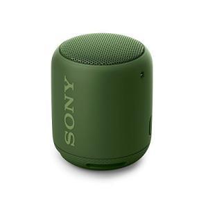 ソニー ワイヤレスポータブルスピーカー 重低音モデル SRS-XB10 : 防水/Bluetooth...